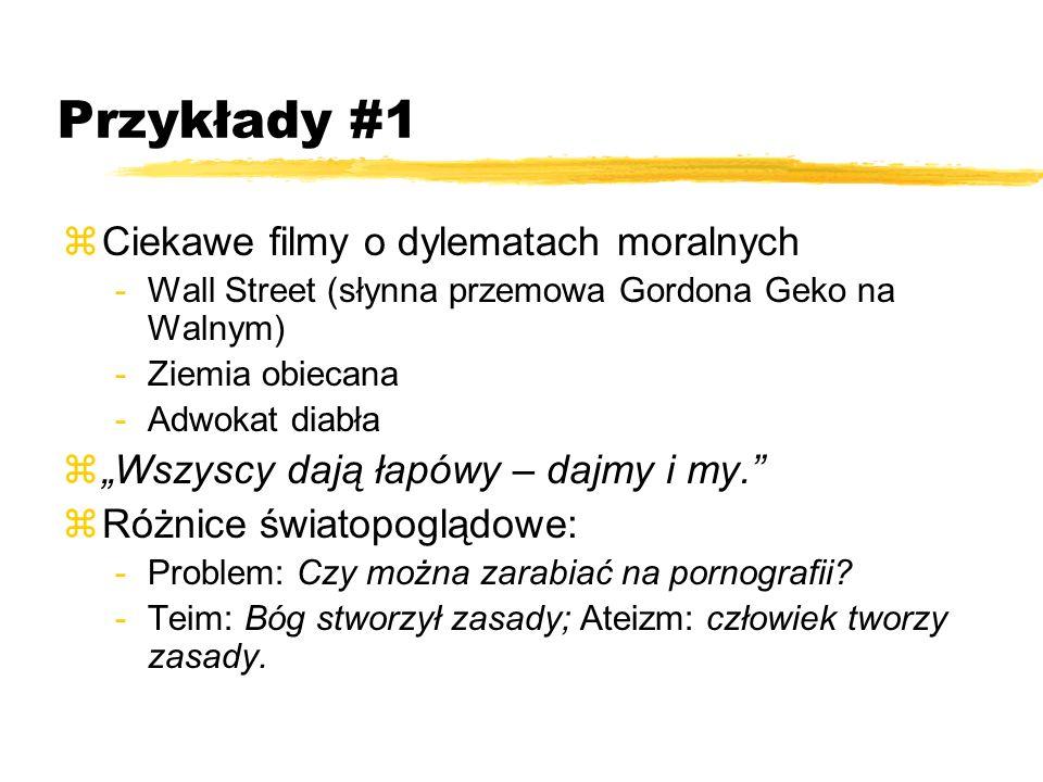 Przykłady #1 Ciekawe filmy o dylematach moralnych