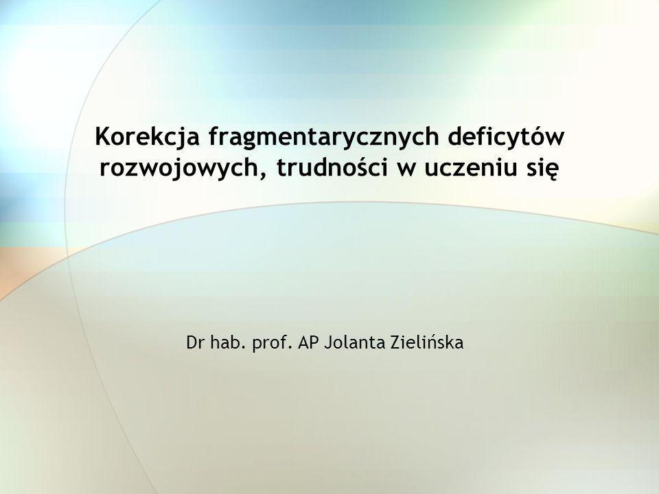 Dr hab. prof. AP Jolanta Zielińska