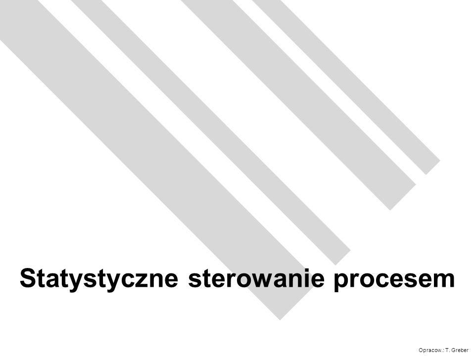 Statystyczne sterowanie procesem
