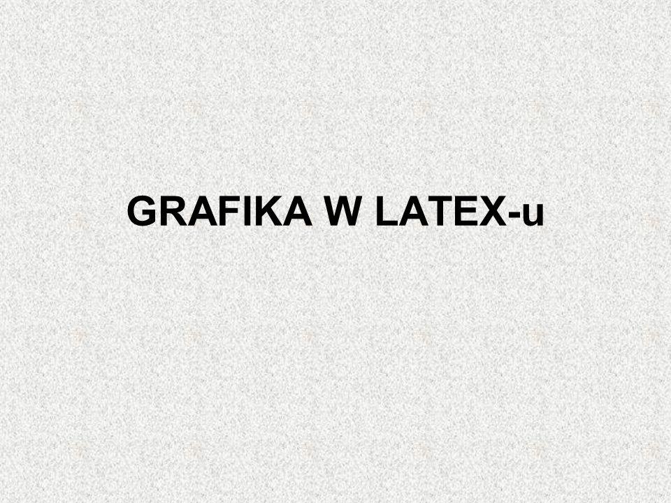 GRAFIKA W LATEX-u