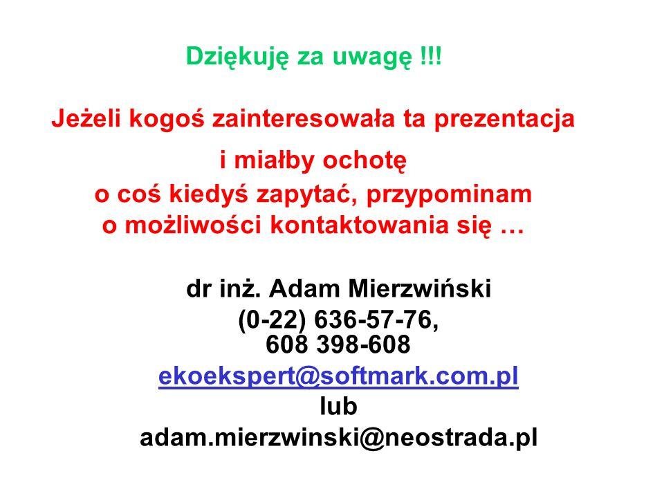 dr inż. Adam Mierzwiński
