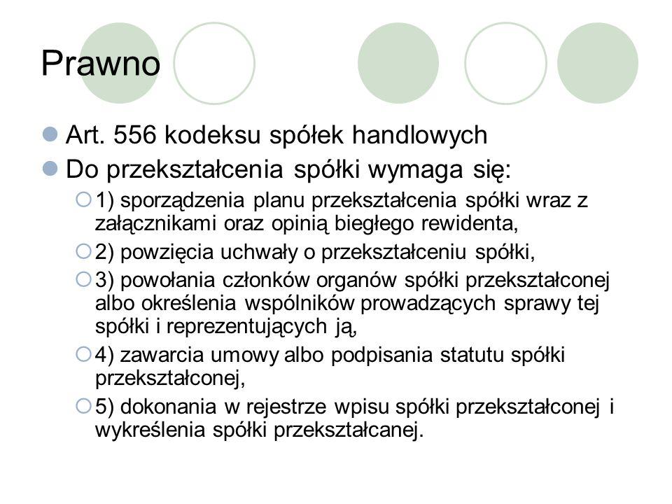 Prawno Art. 556 kodeksu spółek handlowych