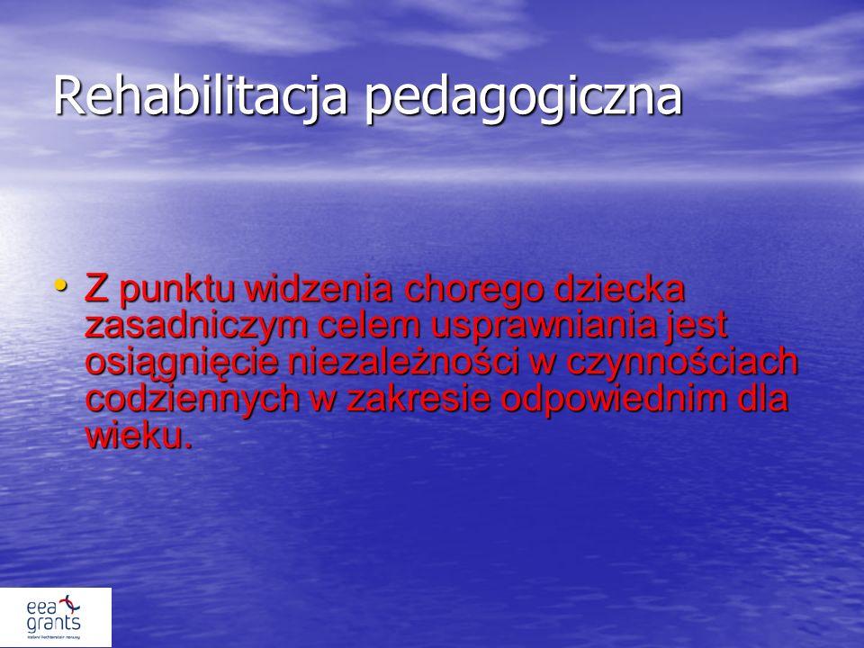 Rehabilitacja pedagogiczna