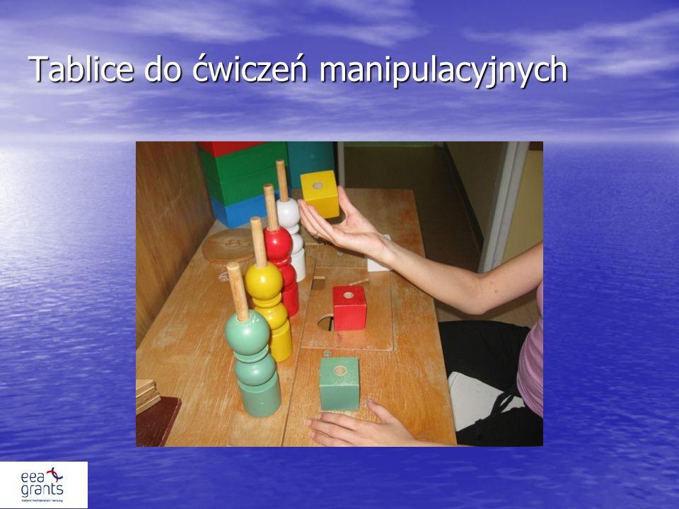Tablice do ćwiczeń manipulacyjnych