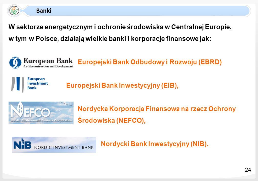 W sektorze energetycznym i ochronie środowiska w Centralnej Europie,