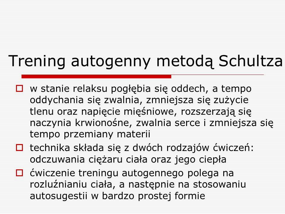 Trening autogenny metodą Schultza