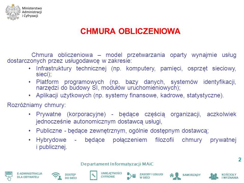 Departament Informatyzacji MAiC