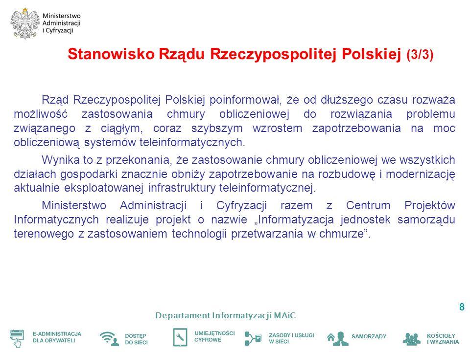 Stanowisko Rządu Rzeczypospolitej Polskiej (3/3)