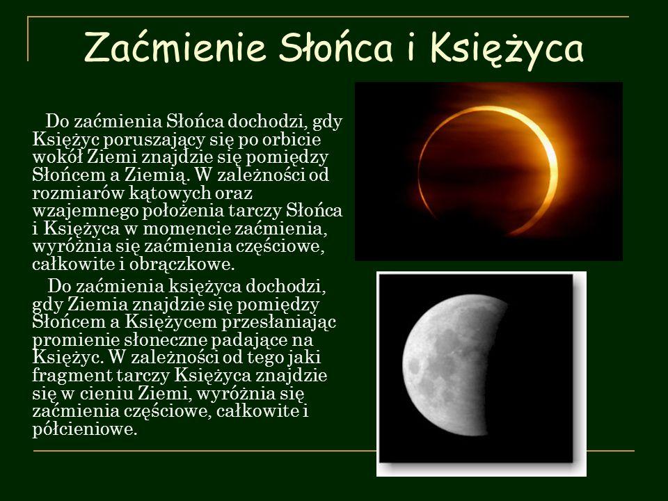 Zaćmienie Słońca i Księżyca