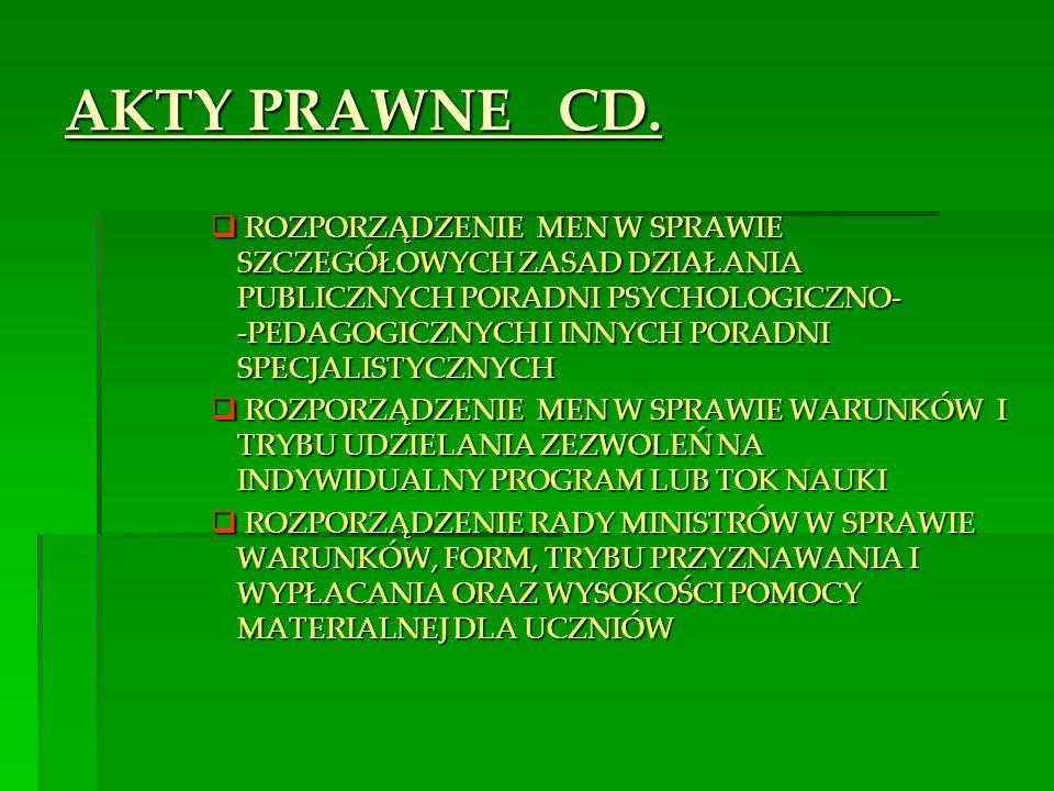 AKTY PRAWNE CD.