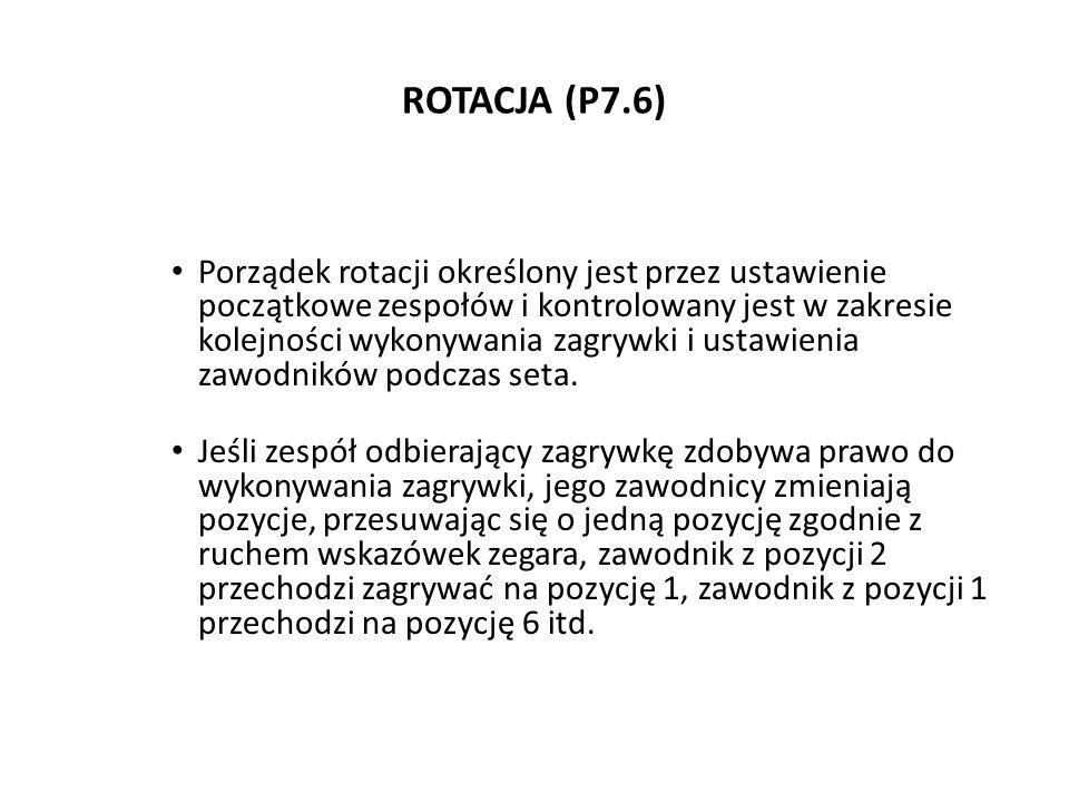 ROTACJA (P7.6)