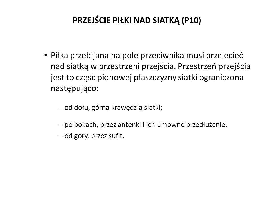 PRZEJŚCIE PIŁKI NAD SIATKĄ (P10)