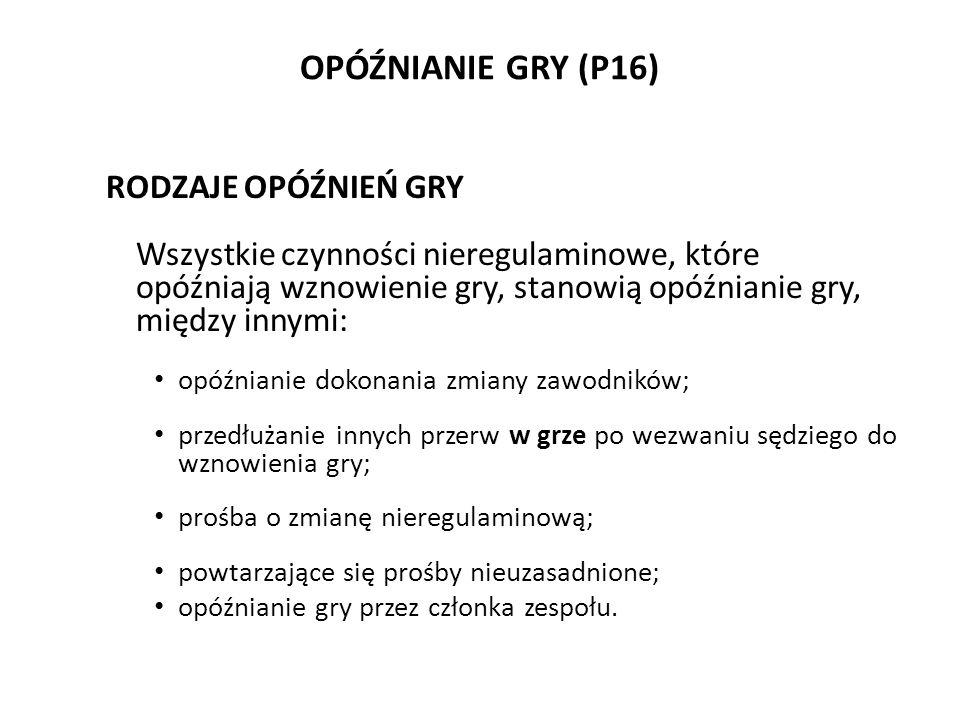 OPÓŹNIANIE GRY (P16)