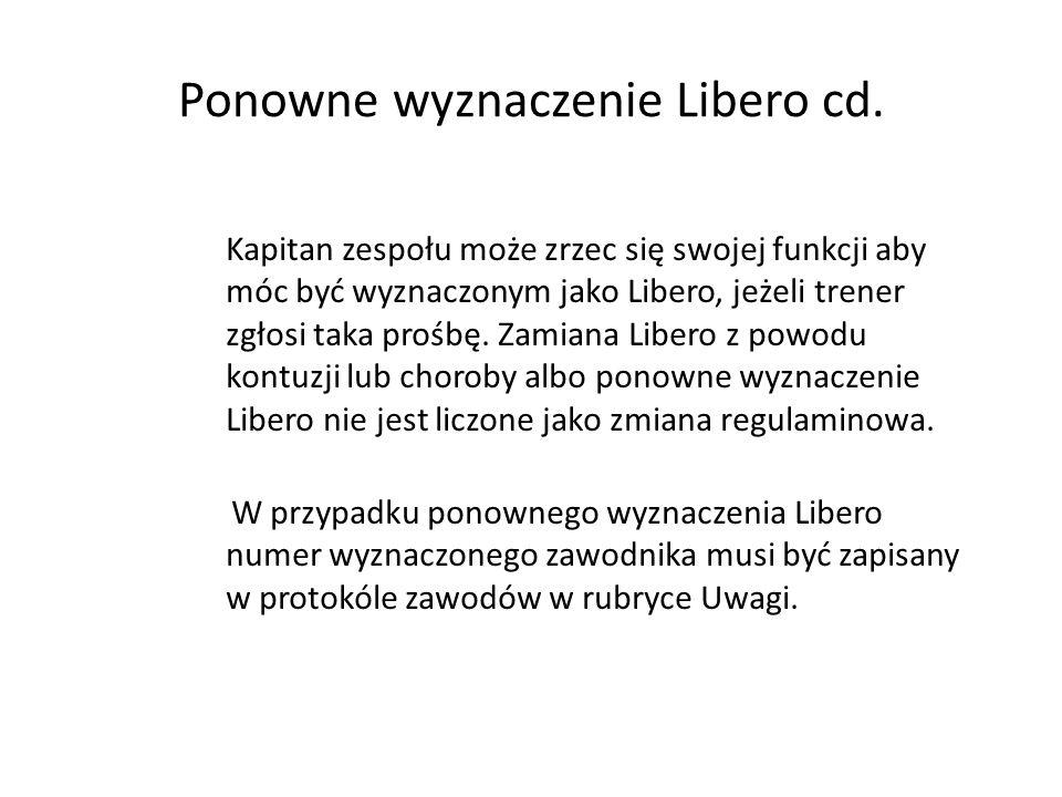 Ponowne wyznaczenie Libero cd.
