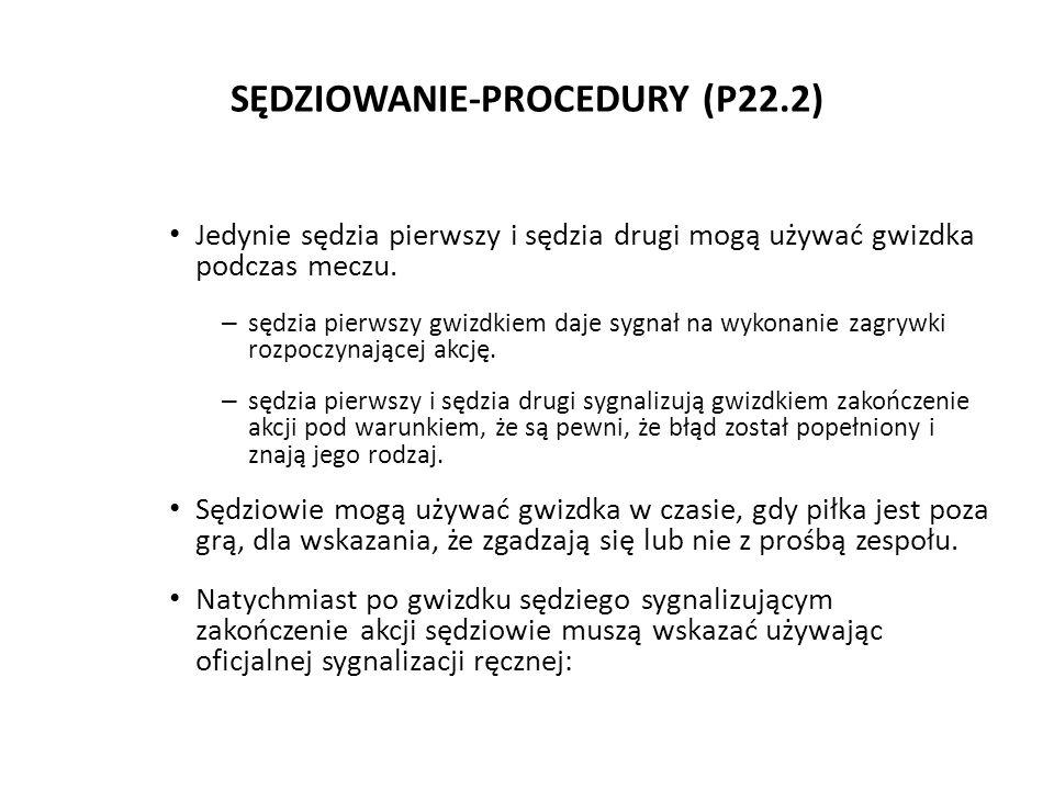 SĘDZIOWANIE-PROCEDURY (P22.2)