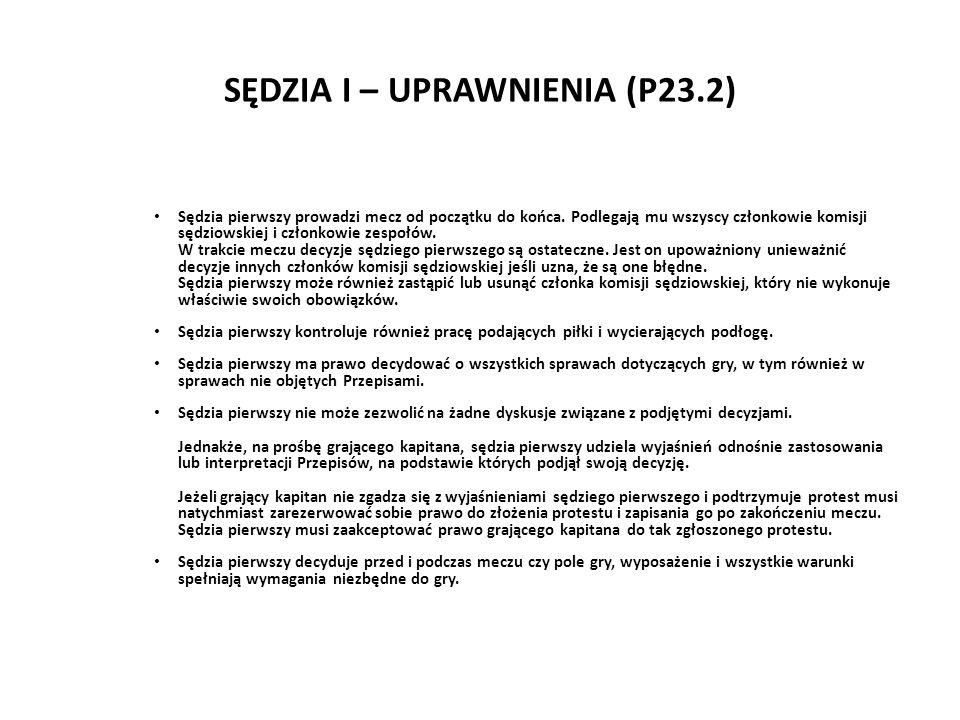 SĘDZIA I – UPRAWNIENIA (P23.2)