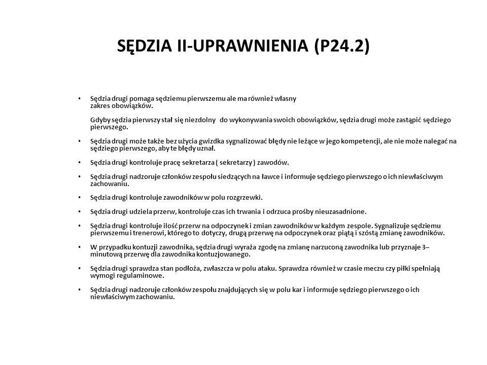 SĘDZIA II-UPRAWNIENIA (P24.2)