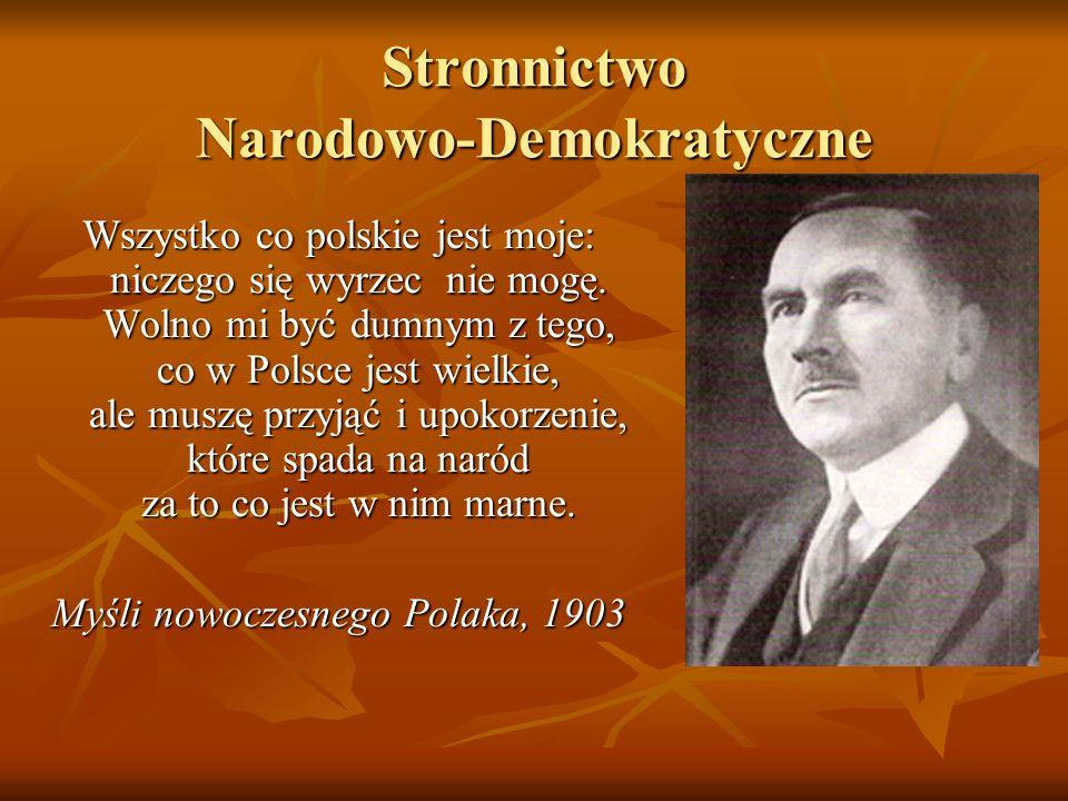 Stronnictwo Narodowo-Demokratyczne