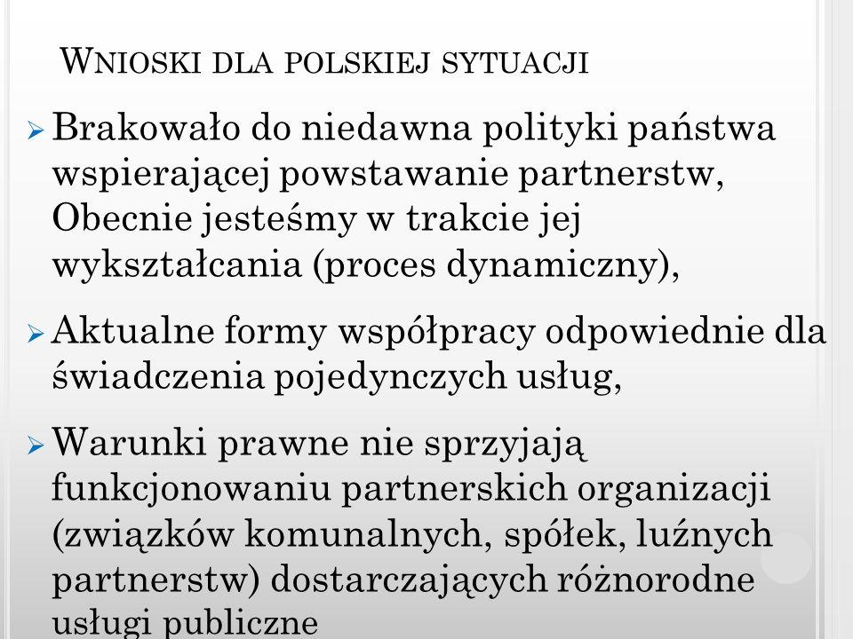 Wnioski dla polskiej sytuacji