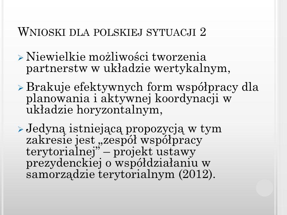 Wnioski dla polskiej sytuacji 2