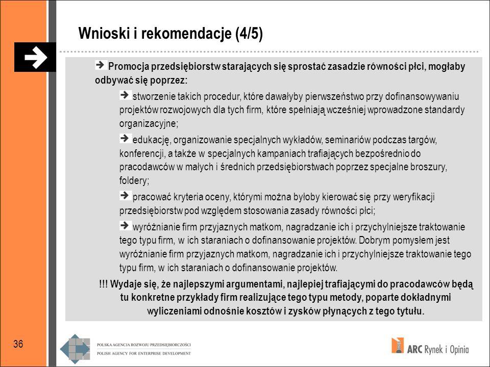 Wnioski i rekomendacje (4/5)