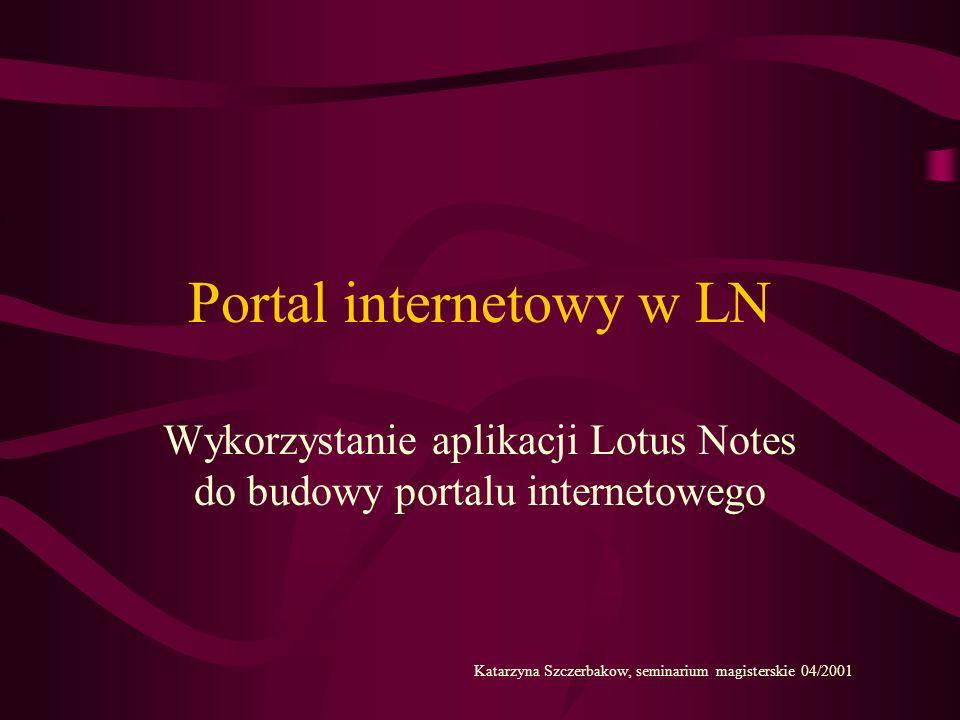 Portal internetowy w LN