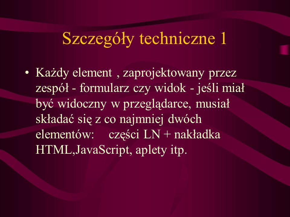 Szczegóły techniczne 1