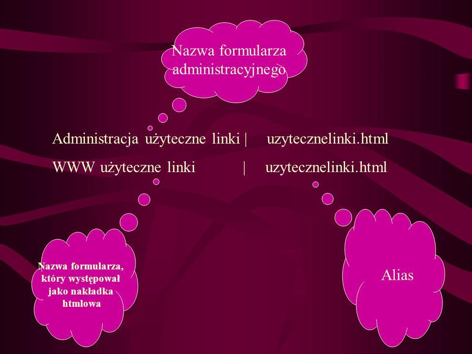 Administracja użyteczne linki | uzytecznelinki.html