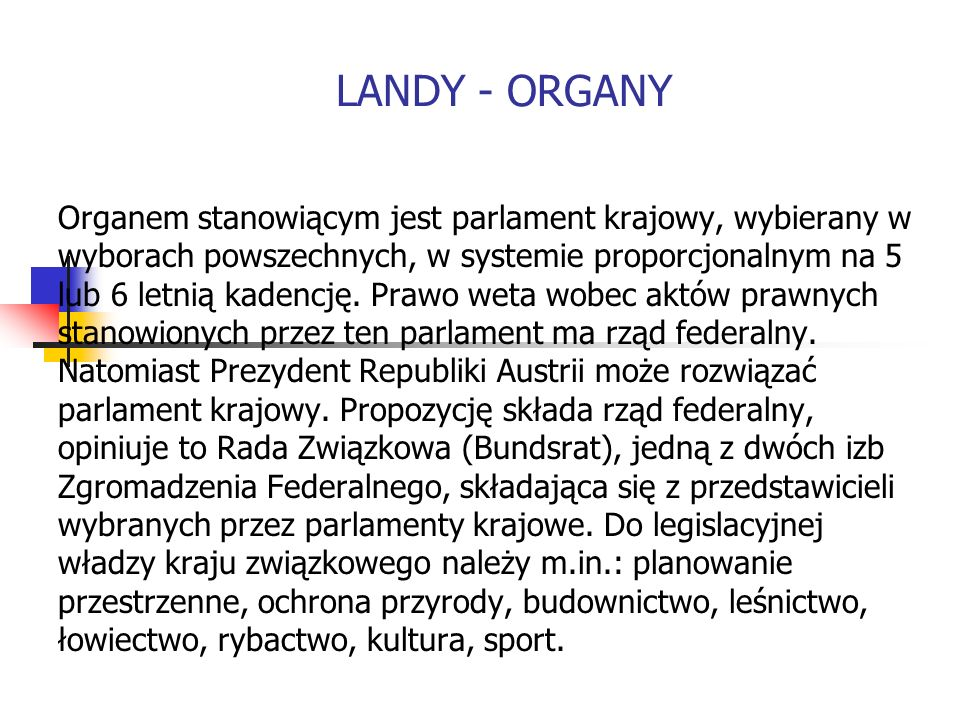 LANDY - ORGANY