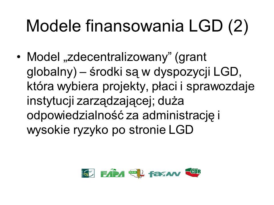 Modele finansowania LGD (2)