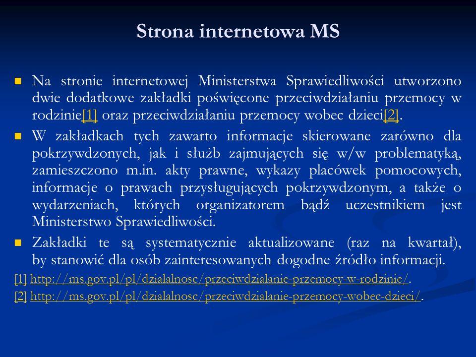 Strona internetowa MS