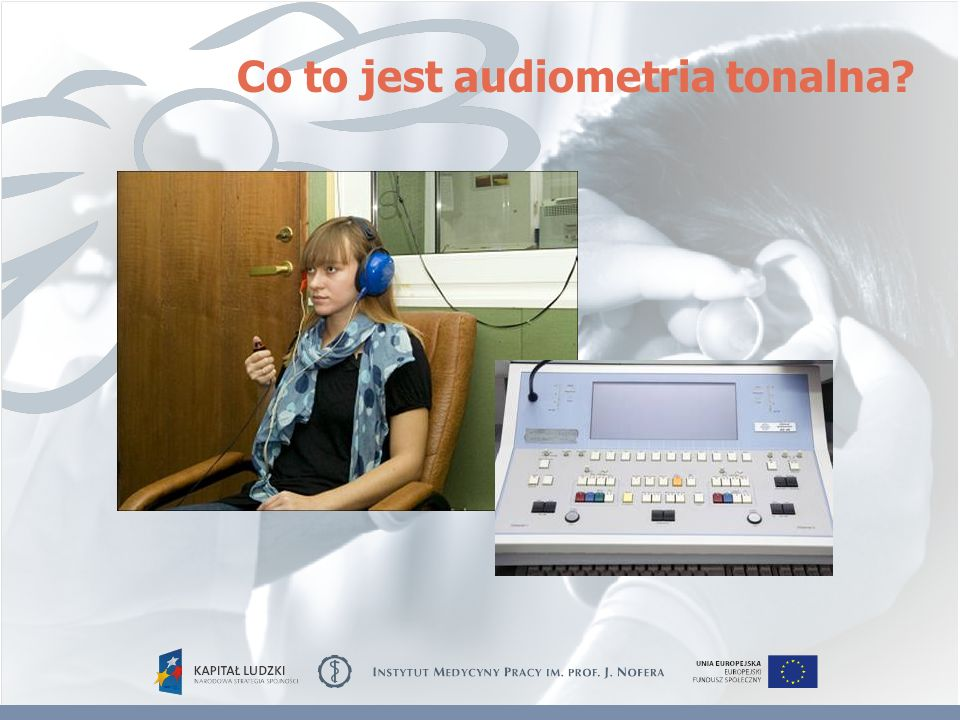 Co to jest audiometria tonalna