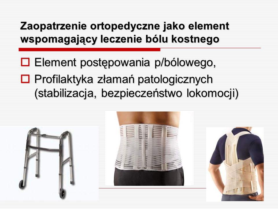 Element postępowania p/bólowego,