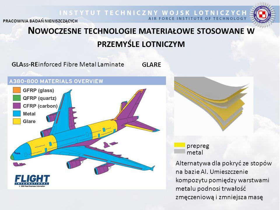 Nowoczesne technologie materiałowe stosowane w przemyśle lotniczym