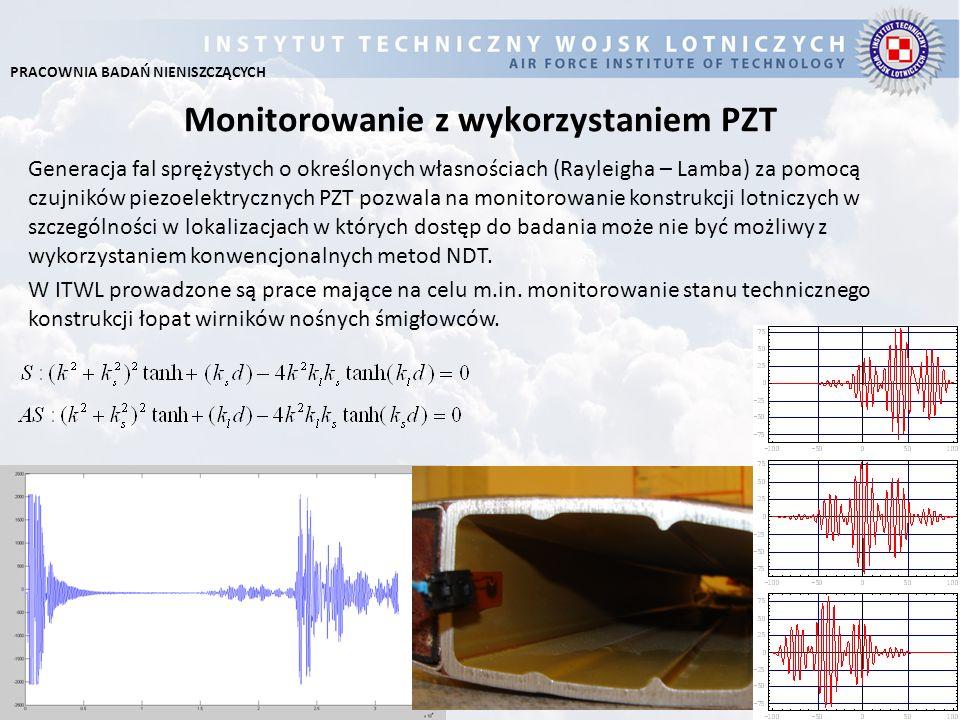 Monitorowanie z wykorzystaniem PZT