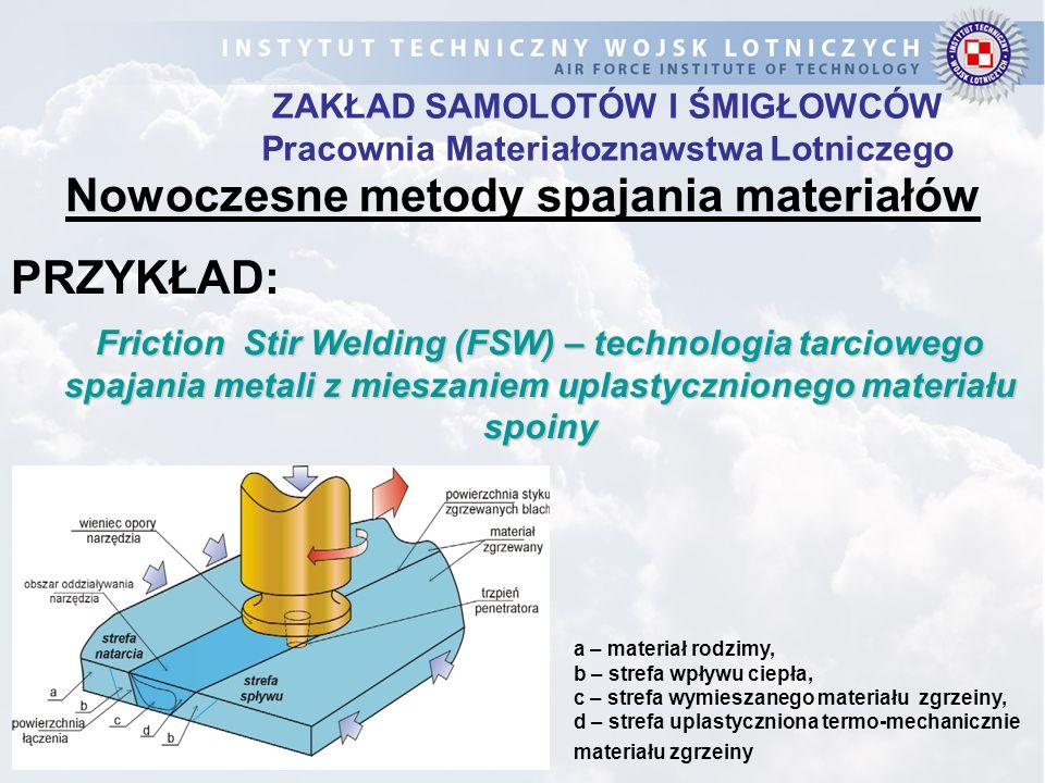 Nowoczesne metody spajania materiałów