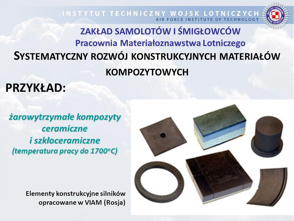 Systematyczny rozwój konstrukcyjnych materiałów kompozytowych