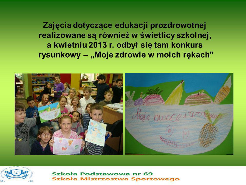 Zajęcia dotyczące edukacji prozdrowotnej
