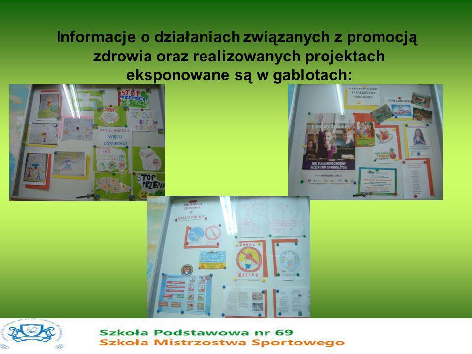 Informacje o działaniach związanych z promocją