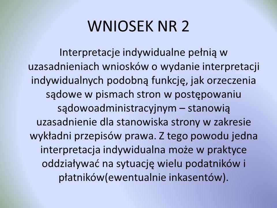 WNIOSEK NR 2