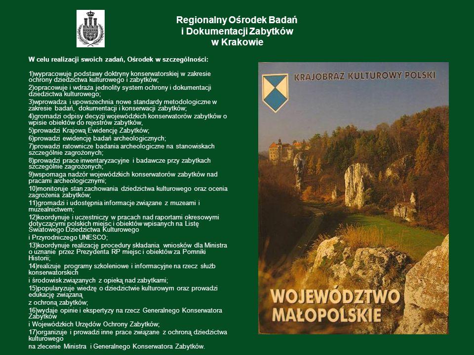 Regionalny Ośrodek Badań i Dokumentacji Zabytków w Krakowie