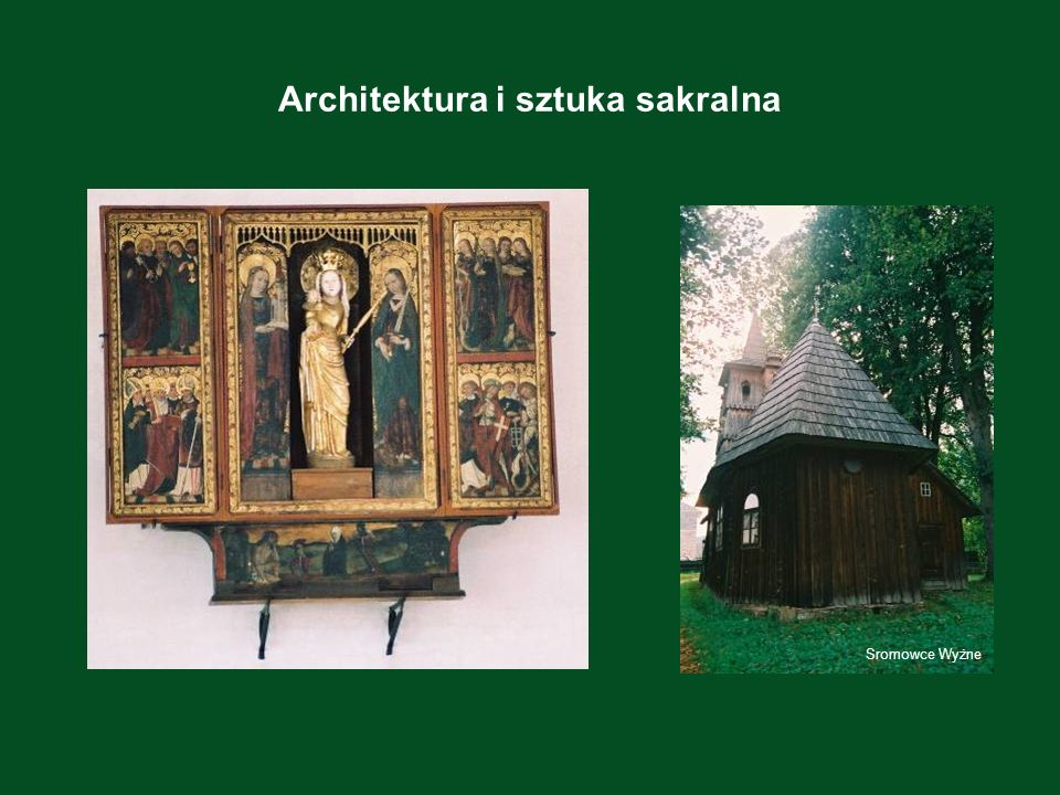 Architektura i sztuka sakralna