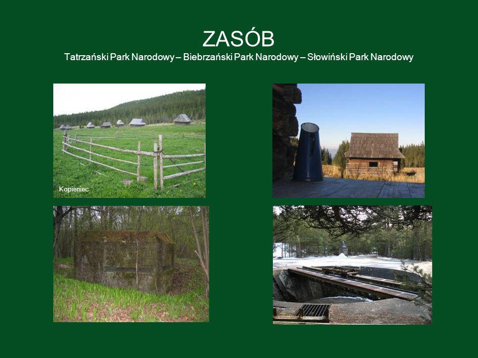 ZASÓB Tatrzański Park Narodowy – Biebrzański Park Narodowy – Słowiński Park Narodowy