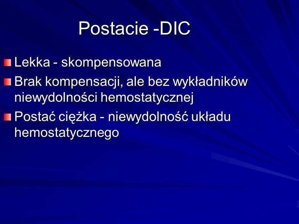 Postacie -DIC Lekka - skompensowana