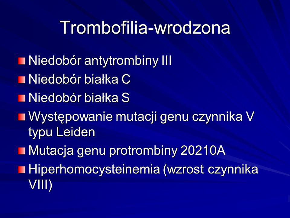 Trombofilia-wrodzona