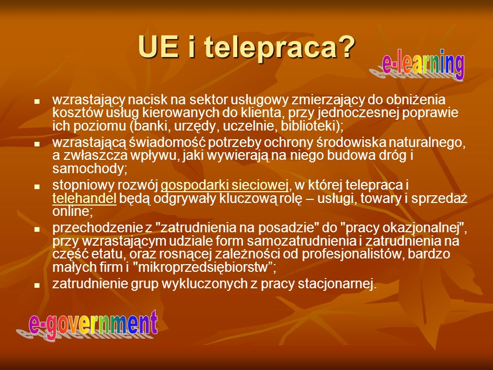 UE i telepraca e-learning