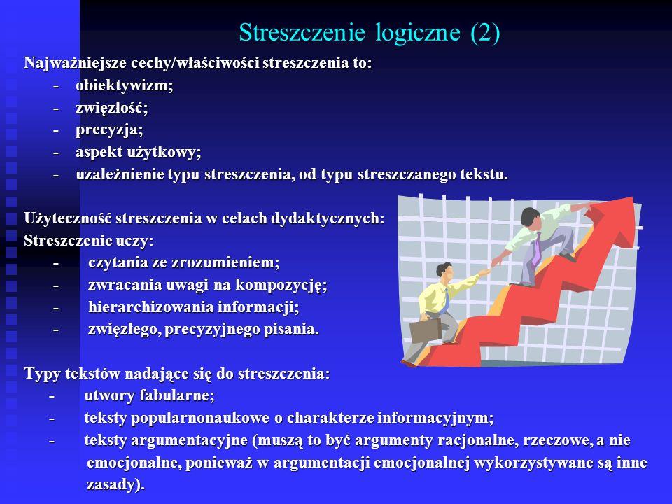 Streszczenie logiczne (2)