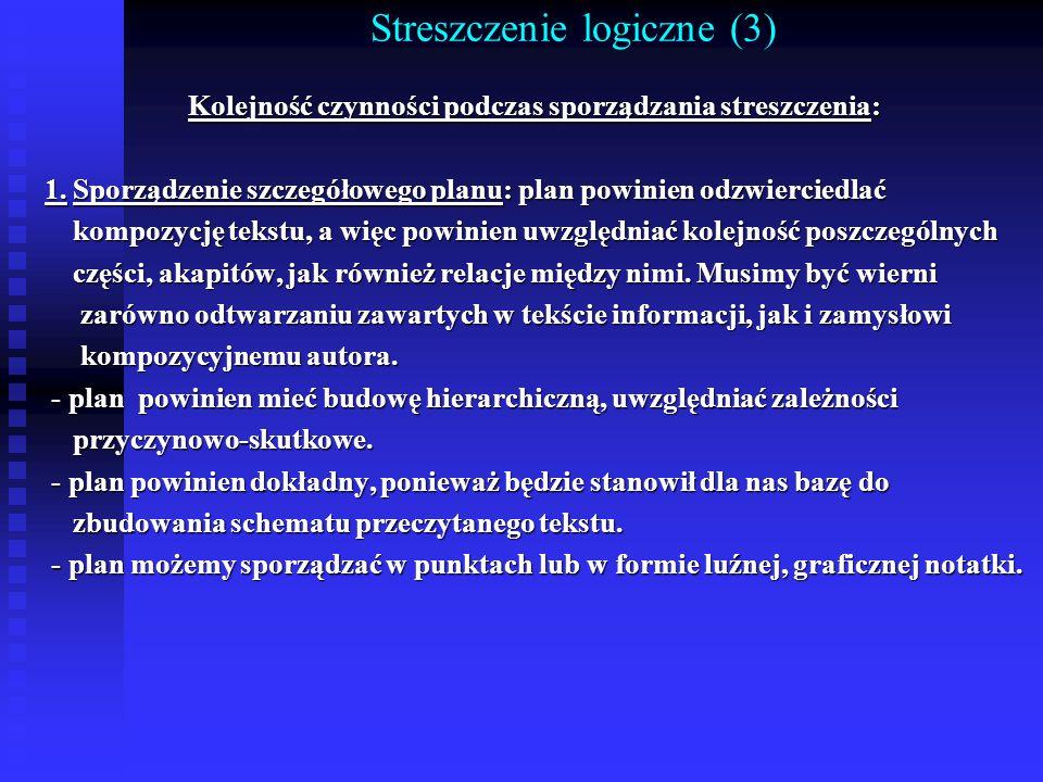 Streszczenie logiczne (3)