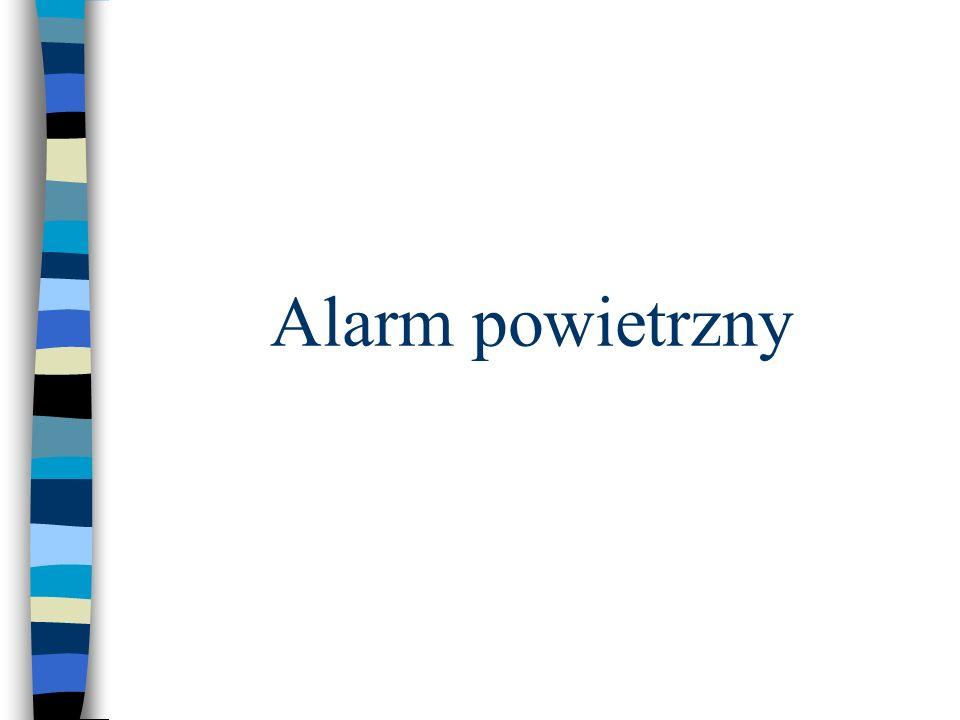 Alarm powietrzny