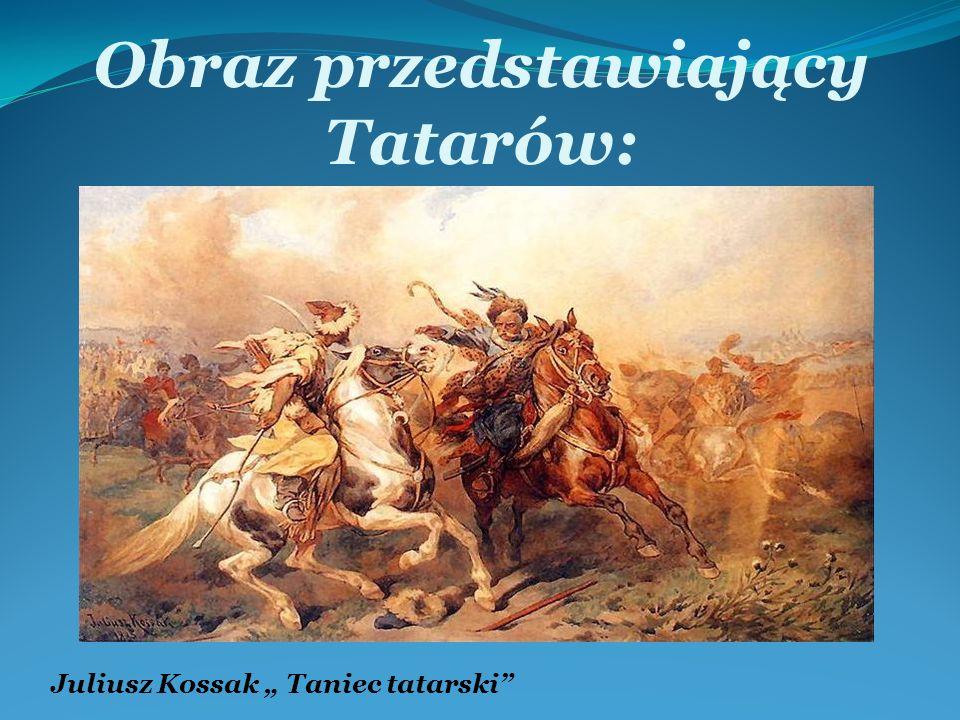 Obraz przedstawiający Tatarów: